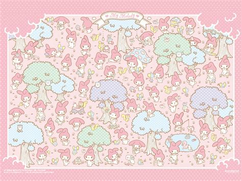 My Background My Melody Official Wallpaper 7