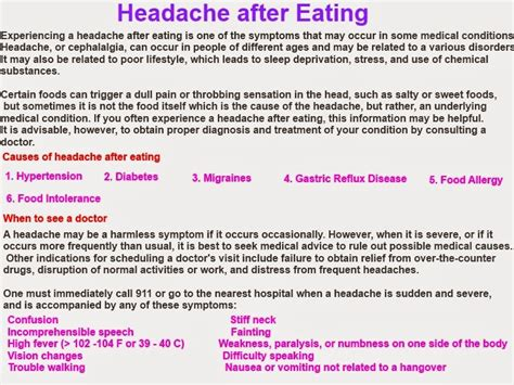 headaches  eating headachesblogspot