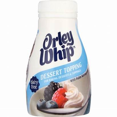Cream Orley Whip Checkers Dessert Topping Imitation