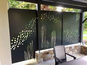 Brise Vue En Aluminium : brise vue et vent sur terrasse en aluminium d cor sur ~ Edinachiropracticcenter.com Idées de Décoration