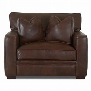 Klaussner homestead ld61500lp c leather chair dunk for Homestead furniture and appliances