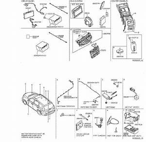 Nissan Pathfinder Radio Control Unit  Audio  Antenna  Navigation