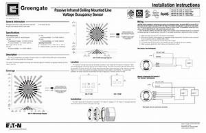 Ceiling Mount Occupancy Sensor Wiring Diagram