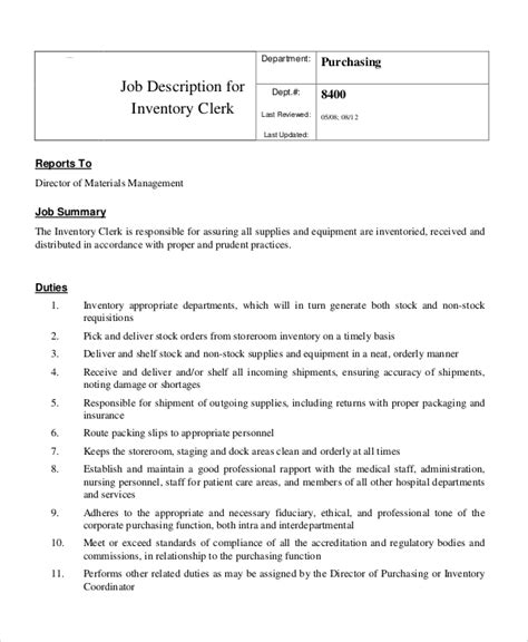 purchasing clerk description ups resume rsum