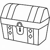 Treasure Chest Drawing Coloring Simple Locked Pirate Pages Drawings Map Kidsplaycolor Opened Clipart Easy Clip Printables Empty Bible Lock Cute sketch template
