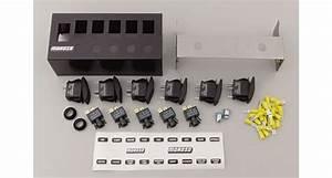 Moroso Rocker Switch Panel 74190