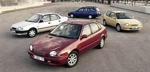 Toyota Corolla E11 Dane Techniczne  Spalanie  Wymiary  4e