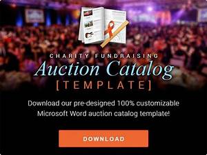 auction ideas auction and templates on pinterest With silent auction catalog template