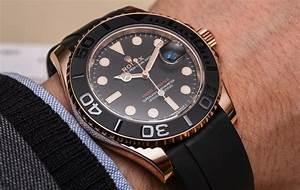 Rolex Yacht Master 116655 268655 Everose Gold Ceramic