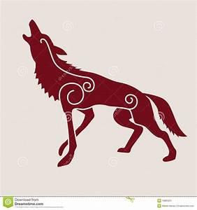 Tatouage Loup Celtique : symbole celtique de loup image stock image 19883251 ~ Farleysfitness.com Idées de Décoration