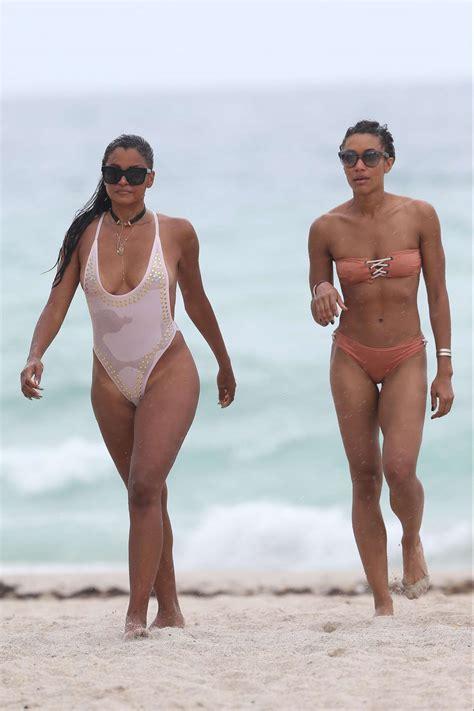 mike white swimsuit claudia jordan in white swimsuit 2017 31 gotceleb