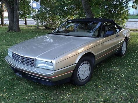 automobile air conditioning repair 1992 cadillac allante head up display purchase used 1992 cadillac allante convertible low miles in menominee michigan united states