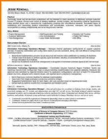skills based retail resume 7 it manager resume sle assistant cover letter