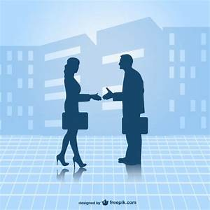 Business partners vector Vector | Free Download