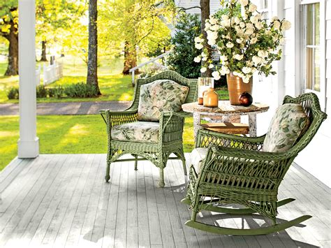 Small Porch Chairs by Beautiful Porch Designs Ideas Southern Living