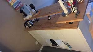 Plan De Travail Pour Bar : table de bar avec kallax ~ Melissatoandfro.com Idées de Décoration