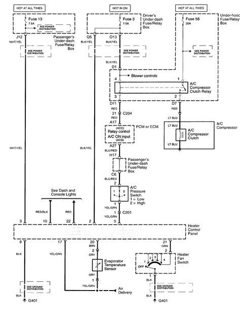 Honda Civic Ac Compressor Wiring by Am Wondering If Anyone Can Help Me I A Honda Accord