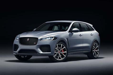 Jaguar Fpace Svr Supersuv Revealed In New York