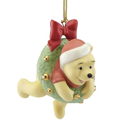 disney winnie the pooh ornament hanging around with pooh