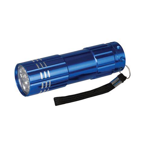 le torche led pas cher le de poche en aluminium 9 led silverline 226491 outillage professionnel discount et