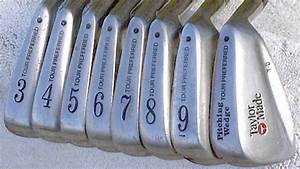 Taylor Made Tour Preferred T.D matched irons 3-PW