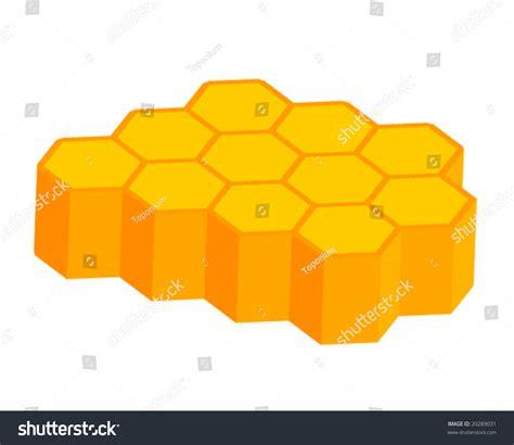 Orange Yellow 3d Honeycomb Background Stock Vector Orange Yellow 3d Honeycomb Background Stock Vector