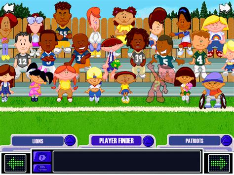 Backyard Football Characters - backyard football 2002 screenshots for windows mobygames
