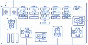 Toyota Camry 2007 Fuse Box  Block Circuit Breaker Diagram
