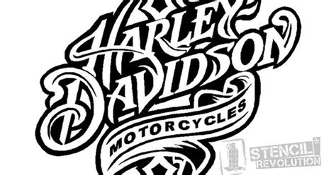 Harley Davidson Stencil
