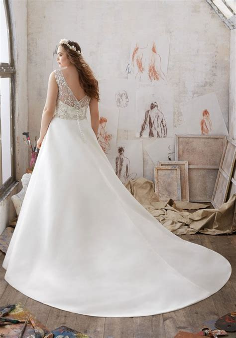 mori lee julietta  size wedding dresses deer pearl