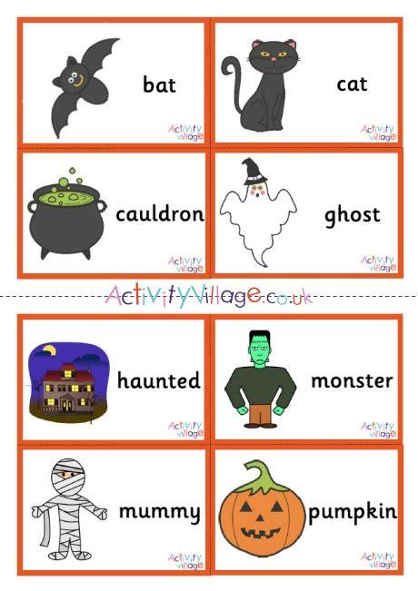 Halloween Flashcards Small