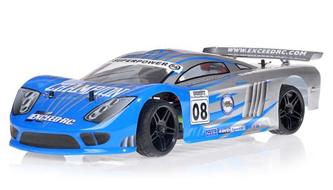 Racing Car Radio 1/10 2.4ghz Exceed Rc Electric Champion