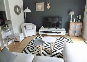 Petit Salon Cosy : idee deco salon cosy beau decoration interieur salon moderne shrunkin ~ Melissatoandfro.com Idées de Décoration