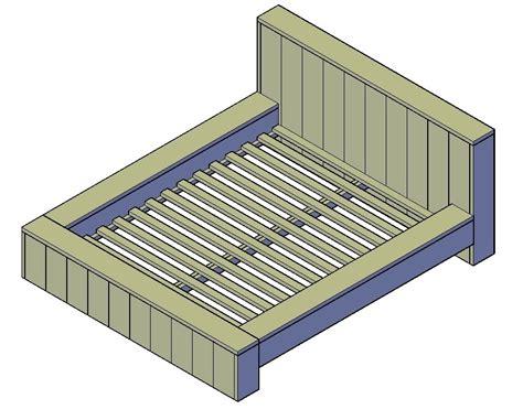 steigerhout bed maken tekening steigerhout bed maken hoe doe je dat klik hier