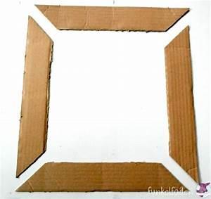 Bilderrahmen Aus Pappe : upcycling bilderrahmen aus pappresten basteln handmade kultur ~ Watch28wear.com Haus und Dekorationen