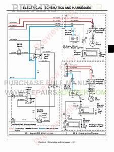 John Deere La130  La140  La150 Lawn Tractor Technical