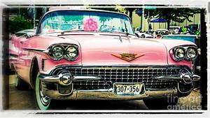 Classic Pink Cadillac Photograph by Perry Webster