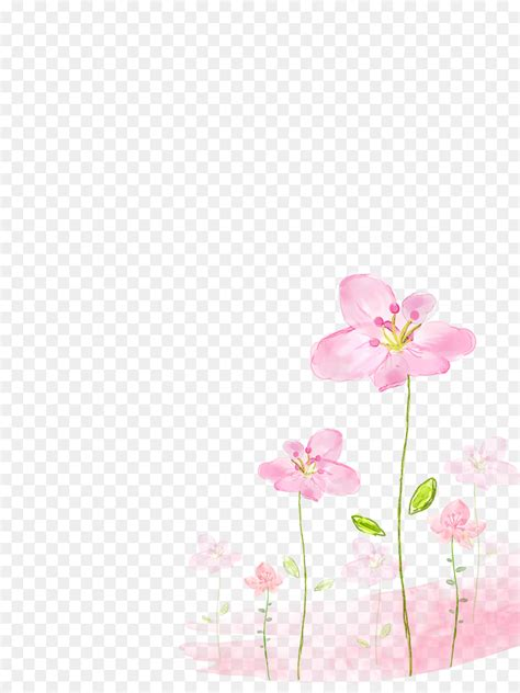 watercolor floral background png