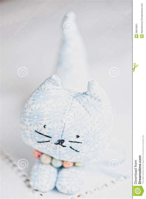 jouet pour chat fait maison chat fait maison de jouet image stock image 28810851
