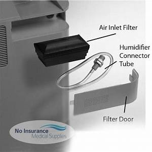 Intake Bacteria Filter For Respironics Everflo Oxygen