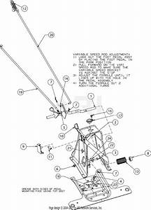 Troy Bilt Tb30  13a726jd066   2017  Parts Diagram For Pedals
