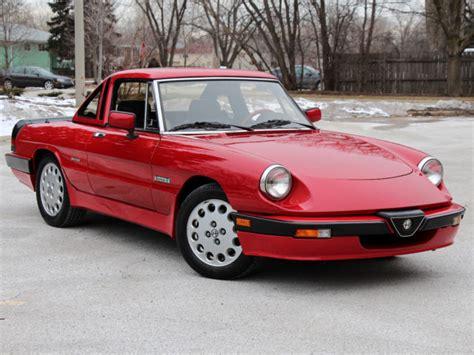 1988 Alfa Romeo Spider by 1988 Alfa Romeo Spider Quadrifoglio 5 Spd All The