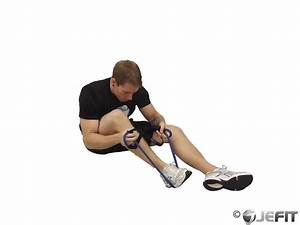 Seated Hamstring and Calf Stretch - Exercise Database ...