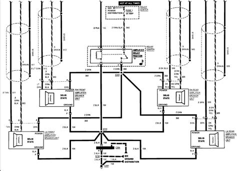 1994 Cadillac Wire Diagram by I A 1989 Cadillac With A Factory Bose System There