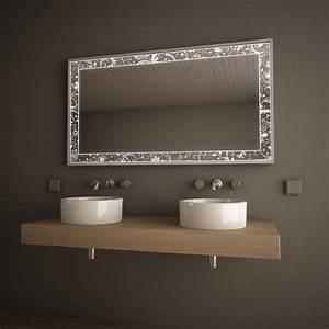Runde Spiegel Mit Rahmen : spiegel im alurahmen mit led beleuchtet 39 feuille 39 exklusive spiegel spiegel mit rahmen 9000462 ~ Bigdaddyawards.com Haus und Dekorationen