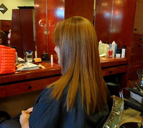 Japanese Hair Straightening On Colored Highlightedhair