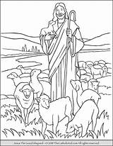 Jesus Coloring Shepherd Shepard Catholic Children Visit Sheets Thecatholickid Printables sketch template