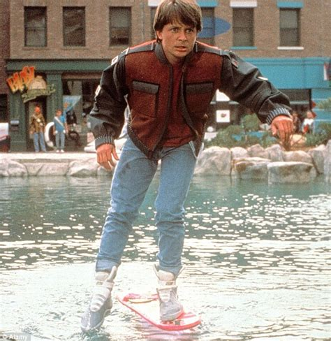 Back to the Future Marty McFly Hoverboard