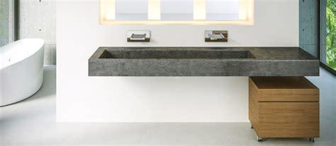 Concrete Bathroom Sinks   Polishing Concrete   Polished