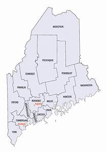 List Of Counties In Maine